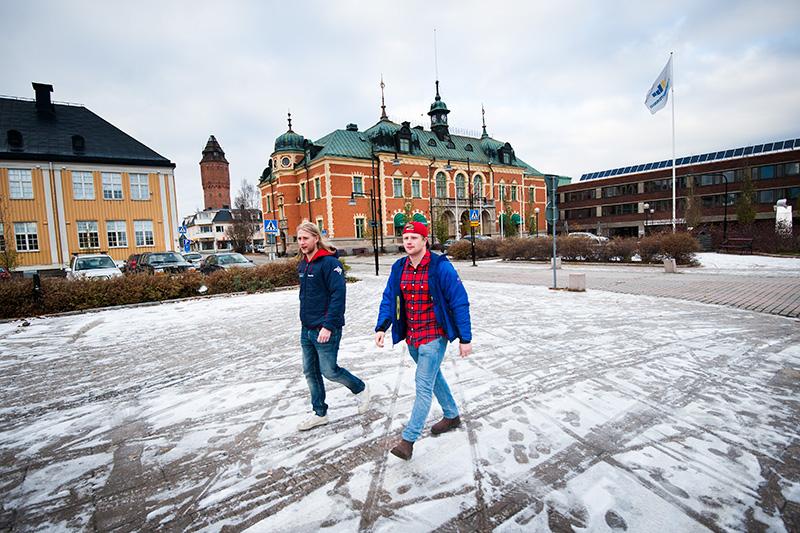 Martin Hellgren (till vänster) och Oskar Nilsson (till höger).