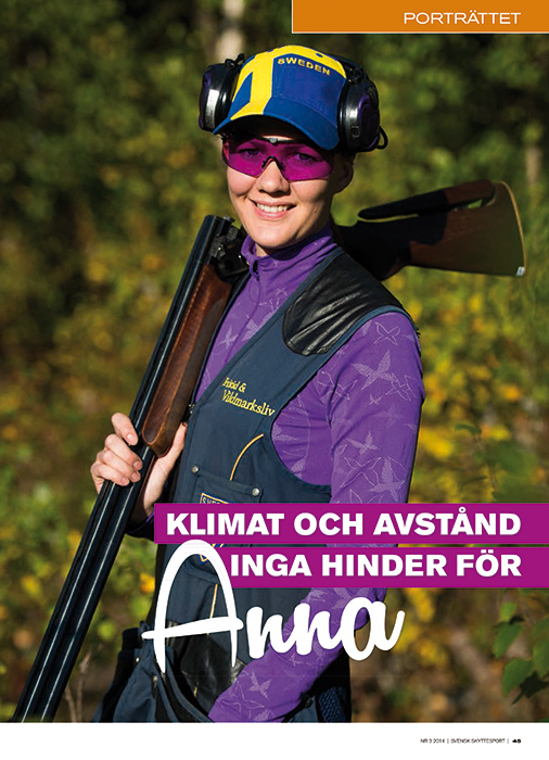 Anna Persson, trapskytt