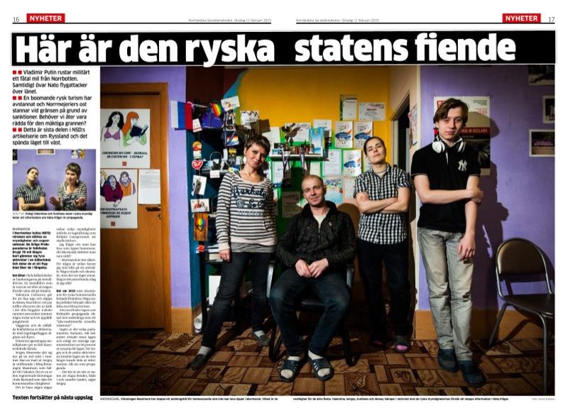 HBTQ-aktivister i Murmansk