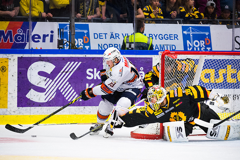 Tuomas Kiiskinen, Markus Svensson. Skellefteå AIK - Växjö Lakers, final 5