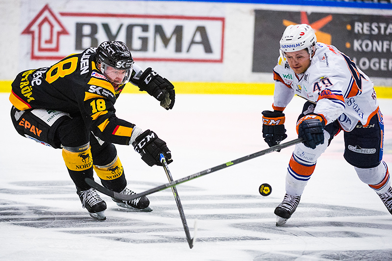 Pontus Petterström, Rhett Rakhshani. Skellefteå AIK - Växjö Lakers, final 5