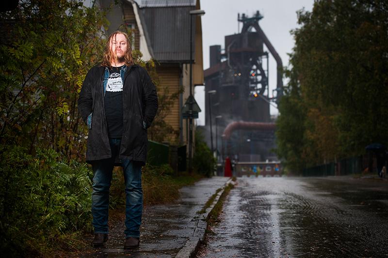 Mattias Alkberg, Svartöstan. SSAB masugn.