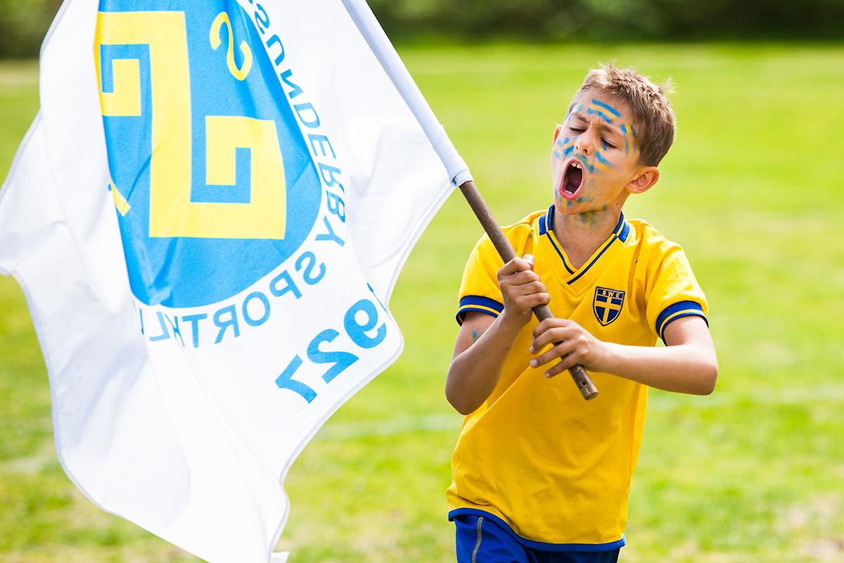 Fotbollsskola i Luleå. För NSD.
