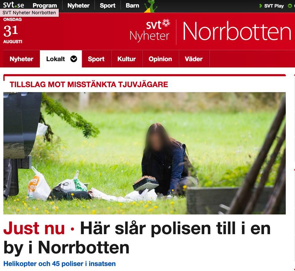 Tillslag jaktbrott SVT Nyheter Norrbotten