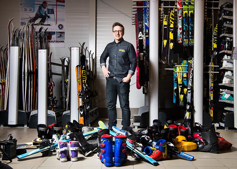 Niklas Wall, ägare Skifix, för Dagens Industri.