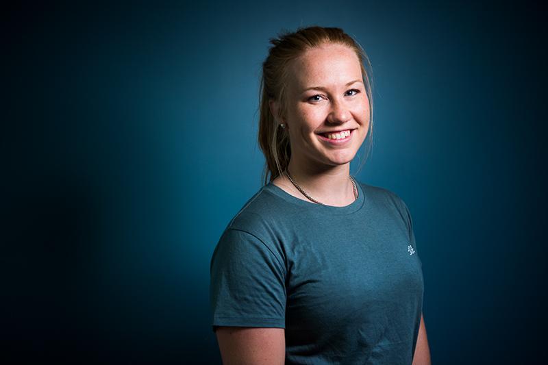 Studentporträtt för Luleå Tekniska Universitet.