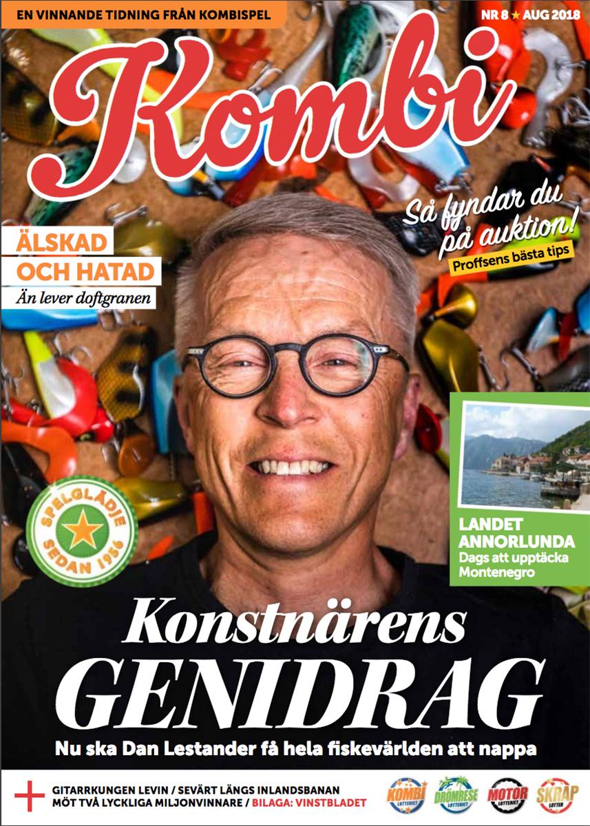 Dan Lestander, Headbanger Lures, för tidningen Kombi