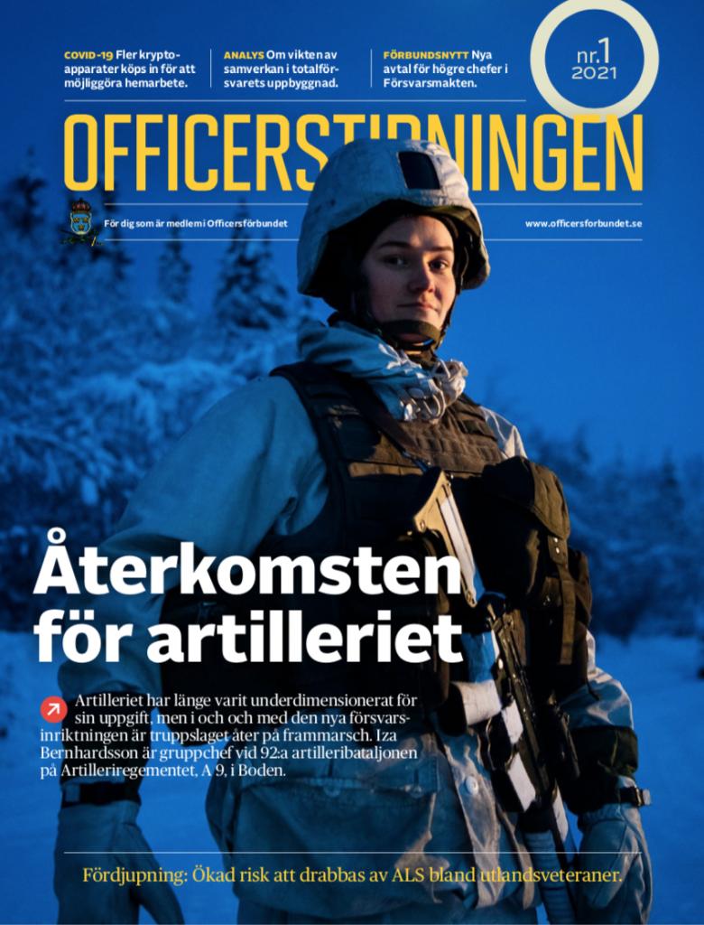Officerstidningen 1/21 ettan